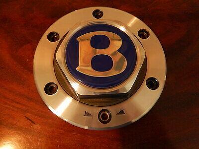 "Bentley Mulliner Azure 1996  2003 1 Hub Cap center for 9.5"" x 18"" Wheels NEW NLA"
