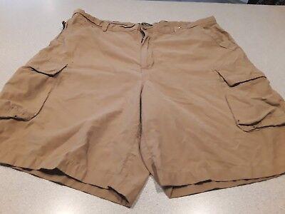 7 Pocket-cargo-shorts (Cherokee 7 Pocket Cargo Shorts Mens 40x10 Color Khaki 65%Cotton/35%Nylon Blend)