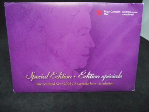 2003-WP CANADA SPECIAL EDITION UNCIRCULATED SET, 7 Coin