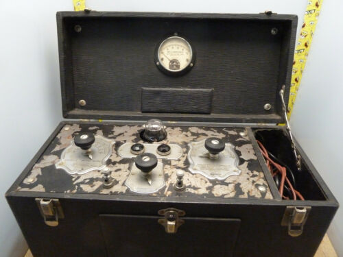 McIntosh Sinustar deluxe antique quack medical electrical [18-O]