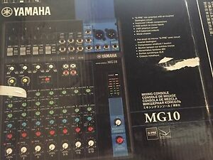 Yamaha MG10 - 10 channel audio mixer Northbridge Perth City Area Preview