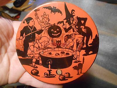 Vintage Chein Halloween Noise Maker Wood Handle