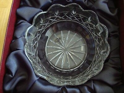 Waterford's Miroslav Havel by Smyth Limited Ed Handcut Crystal Bowl CERTIFIED
