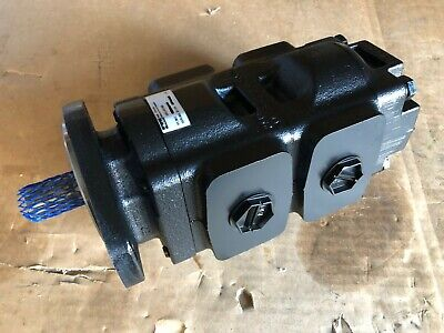 New Genuine Jcbparker Twin Hydraulic Pump 333g5390 36 29ccrev. Made In Eu