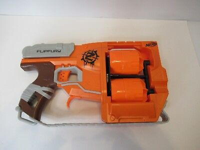 Nerf Zombie Strike Flipfury Blaster Looks And Works Great Fast Shipping