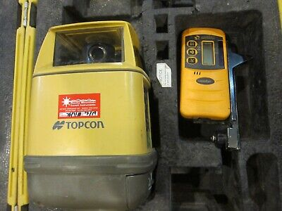 Topcon Rl-h1sa Rotary Laser Level With Receiver Clamp - Free Shipping