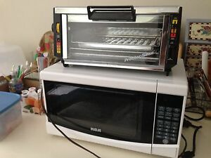 Microwave& Toaster Oven