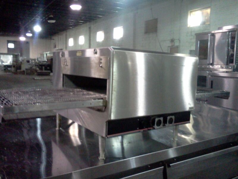 LINCOLN IMPINGER 1301 CONVEYOR PIZZA OVEN Used Verified Operational!