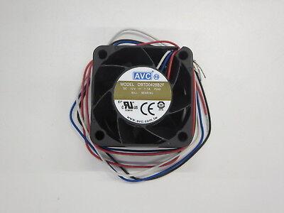 EC4028H12BA 3Pin Ever Cool 40mmx40mmx28mm 12V Ball Bearing Fan