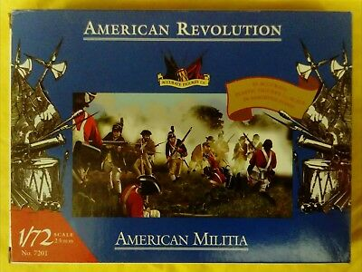 EMPTY BOX Accurate 7201 AWI American Militia 1:72