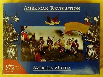 EMPTY BOX Accurate 7201 AWI American Militia 1:72