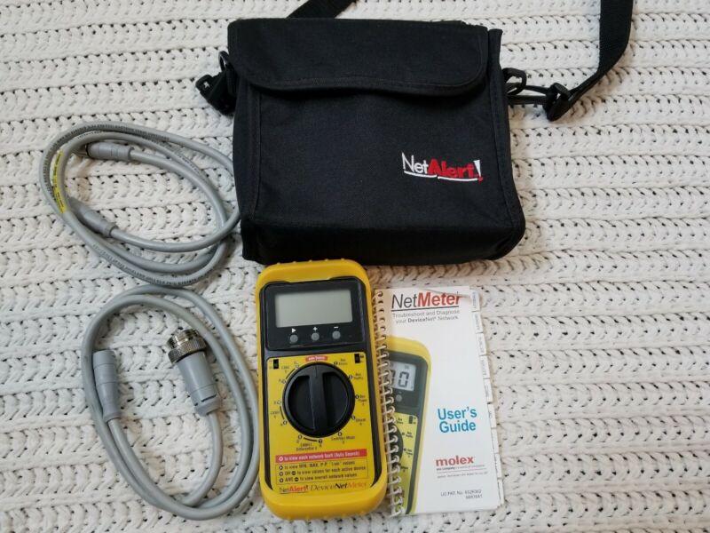 Excellent! NETALERT DN-MTR Brad Communications NetMeter for DeviceNet *WORKS*