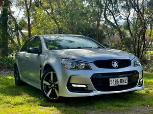 2016 Holden Commodore VF II MY16 SV6 Black Silver 6 Speed Sports Automatic Sedan Reynella Morphett Vale Area Preview