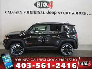 2016 Jeep Renegade Trailhawk, rem start, Sunroof, PRICE DROP!!!