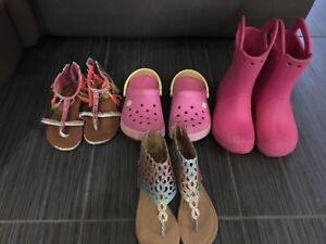 Girls size 13 & 1 shoes