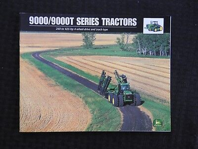 GENUINE JOHN DEERE 9100 9200 9300 9400 9100T 9200T 9300T 9400T TRACTOR BROCHURE for sale  Shipping to Canada