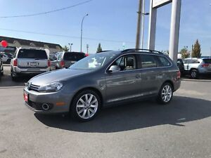 2014 Volkswagen Golf Wagon Highline TDI DIESEL LEATHER PANORAMIC