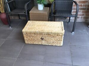 Large rattan trunk