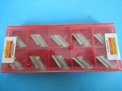 Sandvik Knux 16 04 05r12 Grade H13a Lot Of 10 Inserts C28