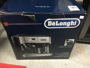 New in the box Delonghi coffee center coffe machine