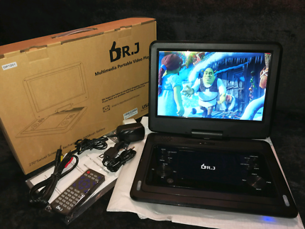 12.1 inch portable dvd player with 6-7 hours battery life - $90!