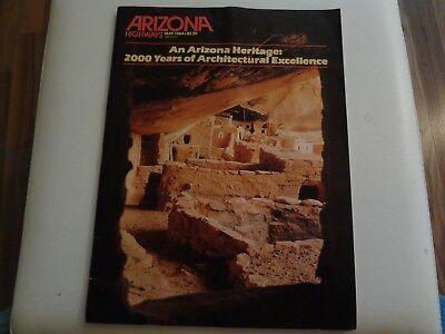 Arizona Highways, May 1984, An Arizona Heritage 2000 years of Architectural Exc.