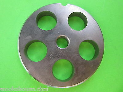 22 X 34 Meat Grinder Plate Disc Stainless Steel Fits Mtn Cabelas Others