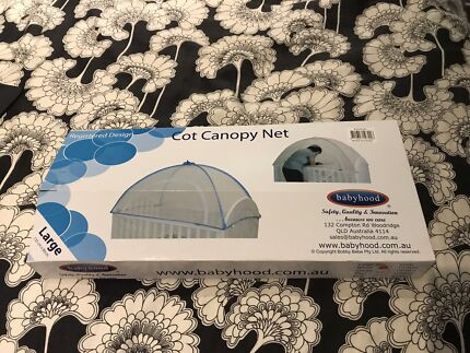BABYHOOD Cot Canopy Net & Babyhood Cot Canopy | Cots u0026 Bedding | Gumtree Australia Brisbane ...