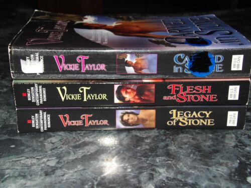 Vickie Taylor lot of 3 Gargoyle series Paranormal Romance paperback
