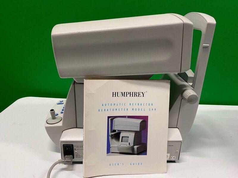 Zeiss Humphrey Automatic Refractor / Keratometer Model 599