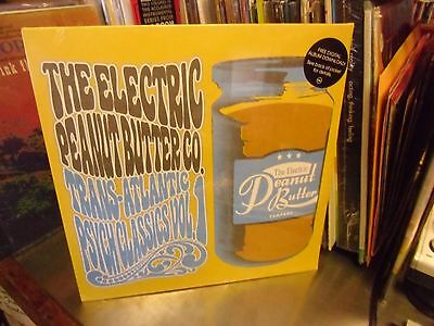 Electric Peanut Butter Co. Trans Atlantic Psychedelic Vol. 1 2x LP NEW +download