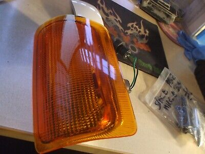 LAND ROVER DISCOVERY 1 200TDI FRONT AMBER INDICATOR LIGHT LAMP, 1989-1994 LH