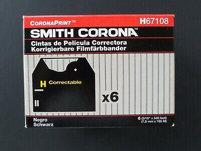 5 Smith Corona H Correctable Typewriter Word Processor Film Ribbon Cassettes