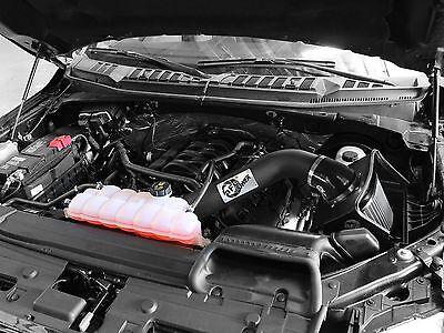 AFE 2015-2016 FORD F150 F-150 5.0L V8 COLD AIR INTAKE CAI SYSTEM BLACK PRO DRY S Afe F150 Intake System