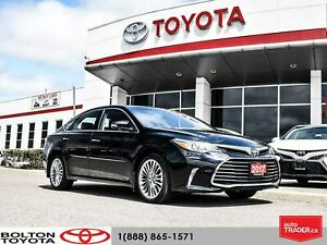 2017 Toyota Avalon Limited|No Accident|LOW KM|Navigation