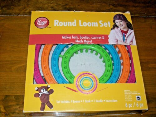 Boye Round Loom Set with Instructions