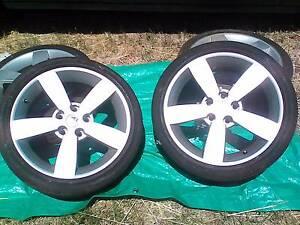 "2002 CV8 Holden Monaro Tyres & Rims 18"" Hillbank Playford Area Preview"