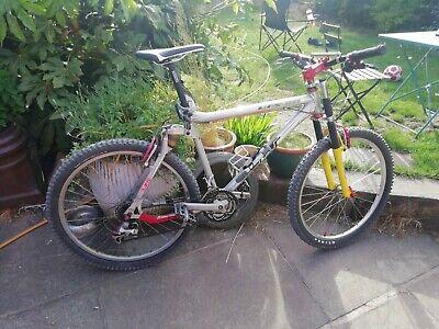 GT LTS Retro Full Suspension Bike. Vintage 90's