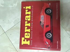 Ferrari book The road from Maranello