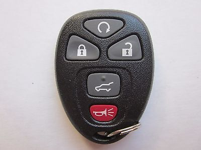 Oem Gm Chevy Keyless Remote Entry Key Fob Alarm 22936101 Ouc60270   5 Button