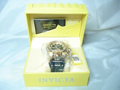 Invicta Reserve Magnum Bolt Zeus Diamond Black MOP Swiss Mvt 52mm Watch NEW!!!