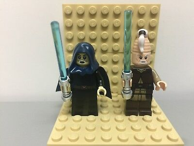 LEGO  Star Wars Barriss Offee and Ki-Adi Mundi Minifigures from 75206