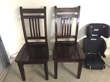2x Riversleigh dining chairs Upper Coomera Gold Coast North Preview