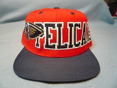 Adidas New Orleans Pelicans Team Jersey Mesh BRAND NEW Snapback hat cap NO NBA
