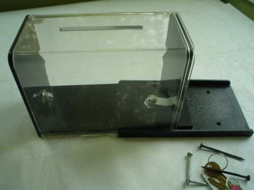 Tip Box, Secure Counter Mount Style w/Original Parts/Keys Complete & Near-New!