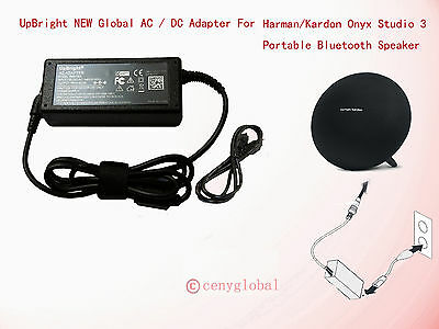 19V AC Adapter for Harman Kardon Onyx Studio 3 Portable