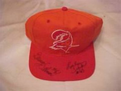 LEE ROY & DEWEY SELMON SIGNED T/B TAMPA BAY BUC'S HAT RARE!