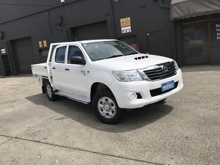 2013 Toyota Hilux SR Turbo Diesel 4x4 STEEL TRAY MANUAL BARGAIN West Footscray Maribyrnong Area Preview
