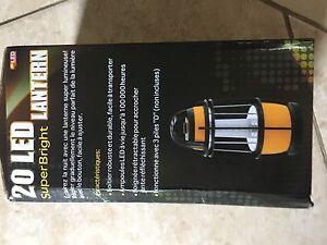 20 LED Lantern rechargeable
