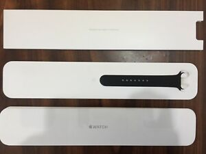 Apple Watch 38mm Black Sport Extra M/L Band